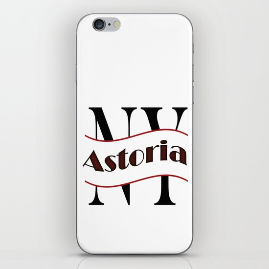 Astoria iPhone & iPod Skin
