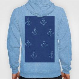 Ancre de bateau (estampe) Hoody