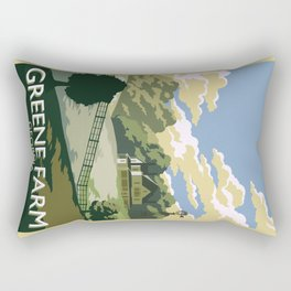 Greene Farm, GA / The Walking Dead Rectangular Pillow
