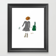 The Perfect Outfit Framed Art Print