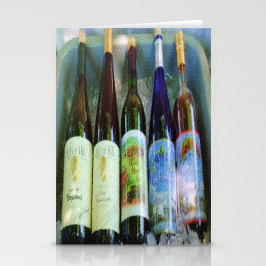 vino time Stationery Cards