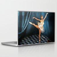 ballerina Laptop & iPad Skins featuring ballerina by Ancello