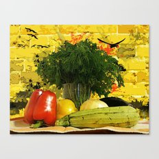 Lunch  Canvas Print