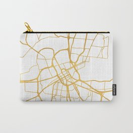 NASHVILLE TENNESSEE CITY STREET MAP ART Carry-All Pouch