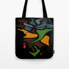 Abstract Puzzle Tote Bag