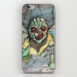 zombie i am iPhone Skin