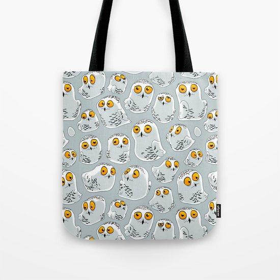 Snowy Owls. Tote Bag
