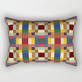 Colorful Abstract Flower Stuhac Rectangular Pillow