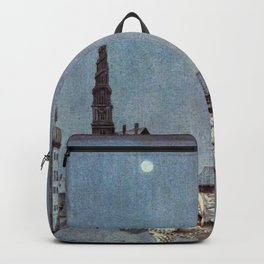 Tinder Box By Kay Nielsen Backpack