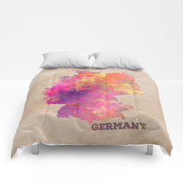 Germany map Comforters