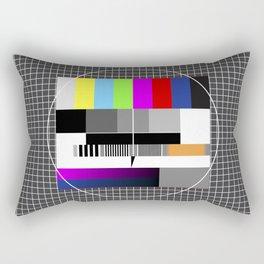 Old TV Rectangular Pillow
