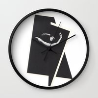 Caught in Flux Wall Clock