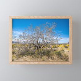 Tree Of Life 7289 Joshua Tree Framed Mini Art Print