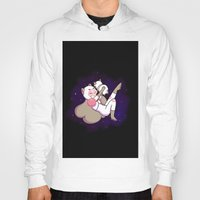 bee and puppycat Hoodies featuring Bee and Puppycat by attercopter