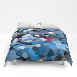 Sapphire Periwinkle Blue Moon Love Comforters
