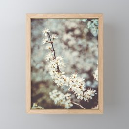 Vintage spring Framed Mini Art Print