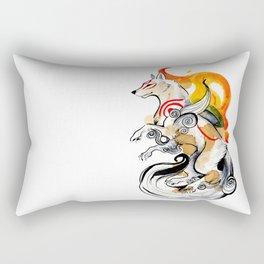 OKAMI AMATERASU I Rectangular Pillow