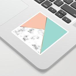 Marble Geometry 056 Sticker