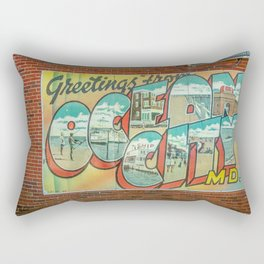 Greetings From Ocean City MD Rectangular Pillow