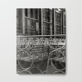 stacked seats Metal Print