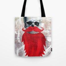 Beard Skull Tote Bag