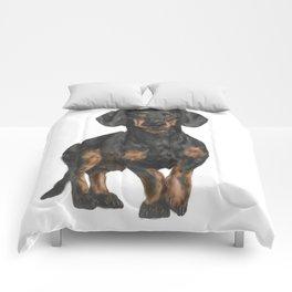 Daschund Comforters