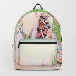 Kay Nielsen - Princess Lena And Michael, The Gardener Backpack
