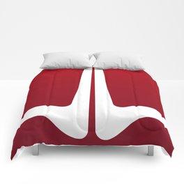 Striped Tomato Comforters