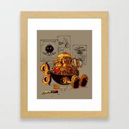 Work of the genius Framed Art Print