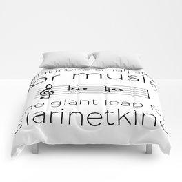 Crossing the break (clarinet) Comforters