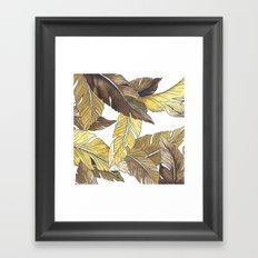 Banana's Jungle II Framed Art Print
