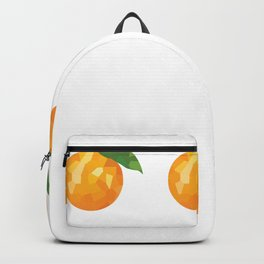 orange 1x3 pattern, fill, repeating, tiled | elegant Backpack