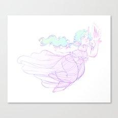 Unigirl Canvas Print