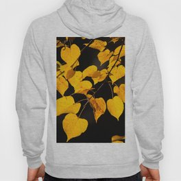 Autumn Foliage Yellow Leaves #decor #buyart #society6 Hoody