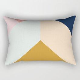Ultra Geometric III Rectangular Pillow