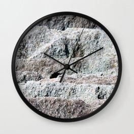 Slate Layers Wall Clock