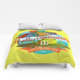 Hello summer and hello sea! Comforters