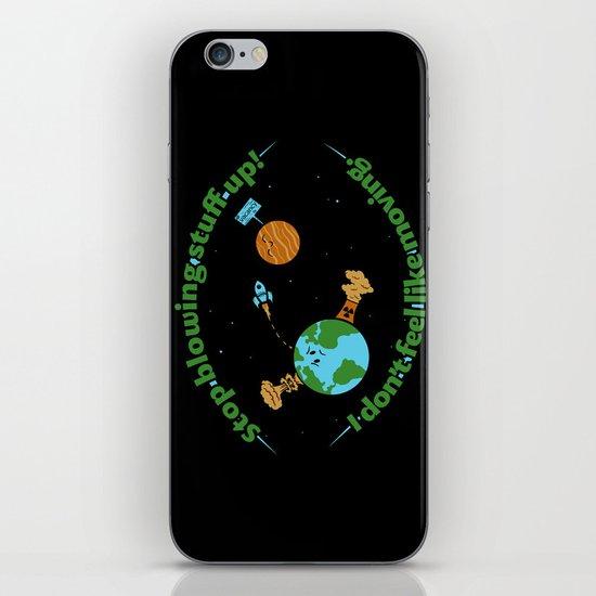 Stop It iPhone & iPod Skin