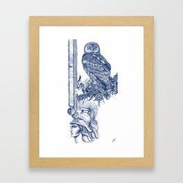 Air of Athena Framed Art Print