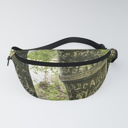 Carvings on Bamboo Fanny Pack