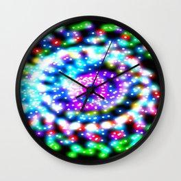 Skittle Galaxy Wall Clock