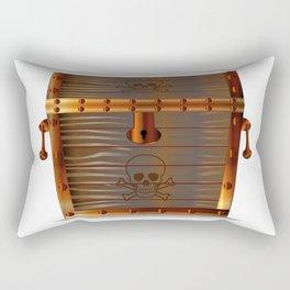 Pirates Treasure Chest Rectangular Pillow