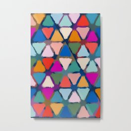 All the triangles Metal Print