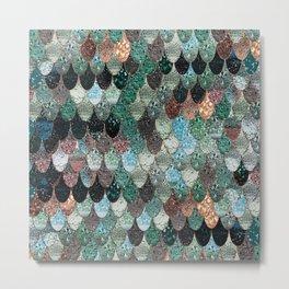 SUMMER MERMAID SEAWEED MIX by Monika Strigel Metal Print