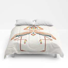 couple of birds Comforters