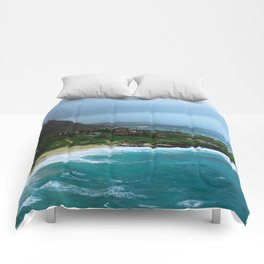A Postcard Home from Paradise Comforters