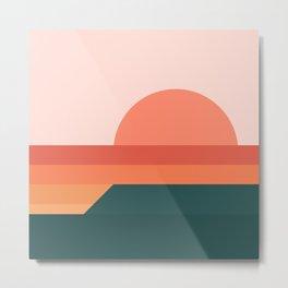 Sunseeker 08 Landscape Metal Print