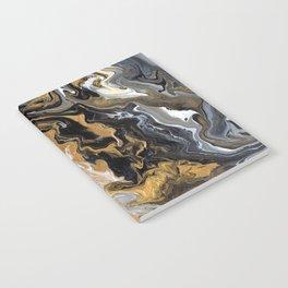 Gold Vein Marble Notebook