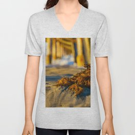 Seaweed at Sunrise Unisex V-Neck