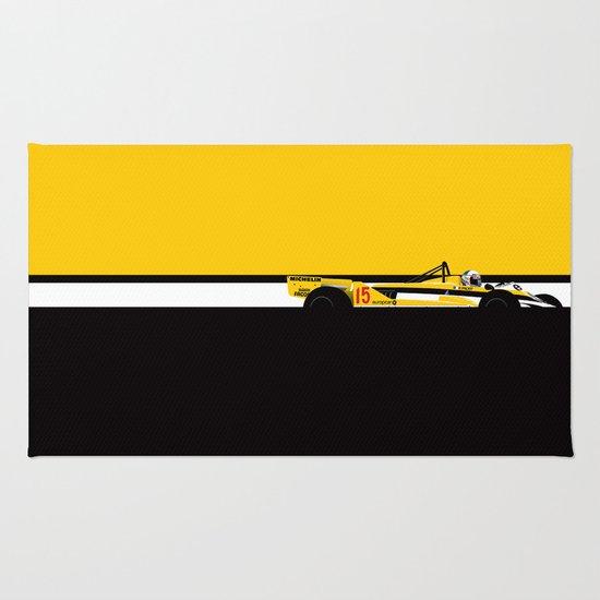 Alain Prost, Renault RE30, 1981 Rug